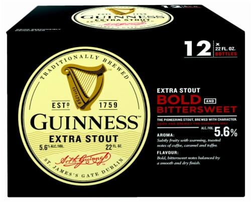 Guinness Extra Stout Perspective: front