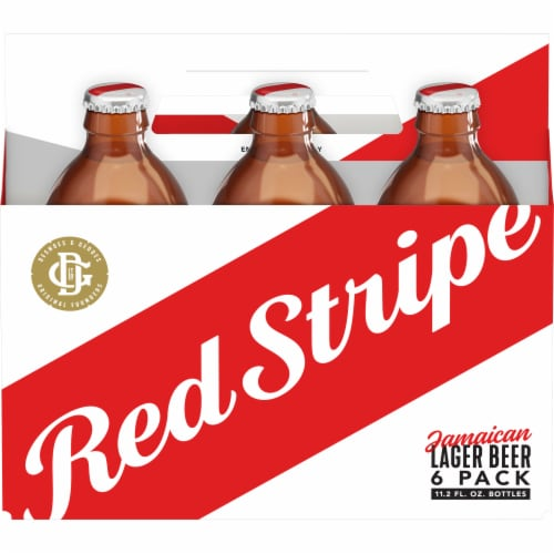 Red Stripe Jamaican Lager Perspective: front