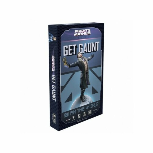 Academy Games AYG1020 Agents of Mayhem & Get Gaunt Expansion Video Game Perspective: front