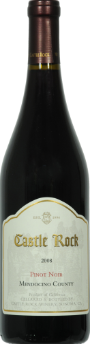 Castle Rock Pinot Noir Red Wine Perspective: front