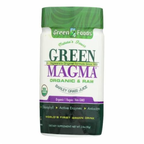 Green Foods  Dr Hagiwara Green Magma Barley Grass Juice Powder Perspective: front