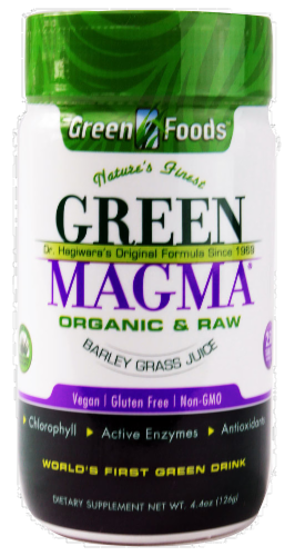 Green Foods Green Magma Dietary Supplement Perspective: front