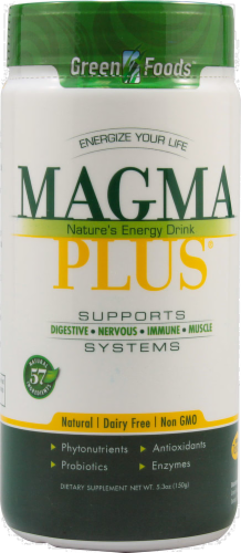 Green Foods Magma Plus Energy Drink Perspective: front