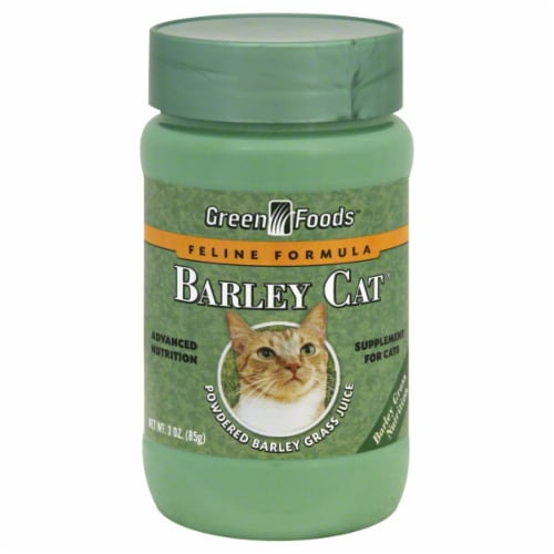 Green Foods Barley Cat Dietary Supplement Perspective: front