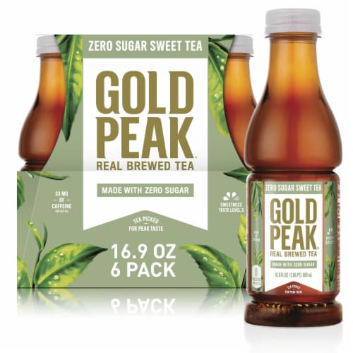 Gold Peak Diet Tea Perspective: front