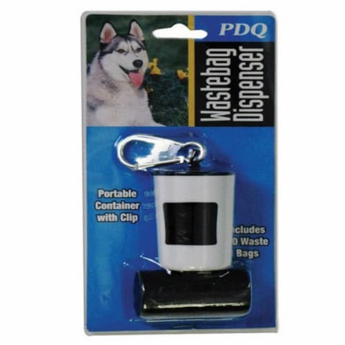 PDQ Plastic Dog Waste Bag Dispenser 20 pk - Case Of: 1; Each Pack Qty: 20; Total Items Qty: Perspective: front
