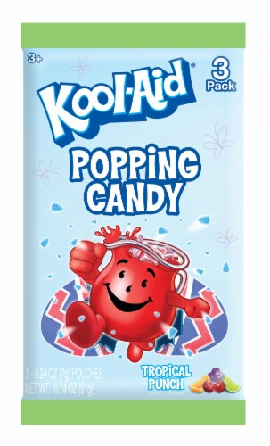 Kool-Aid Popping Candy 3 Count Perspective: front