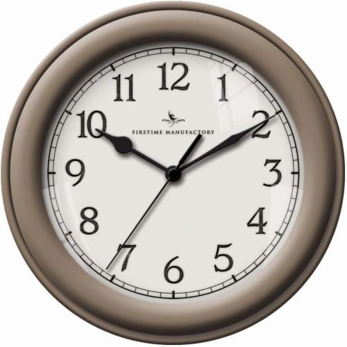 FirsTime Champagne Essential Wall Clock Perspective: front
