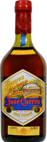 Jose Cuervo Reserva Anejo Tequila Perspective: front