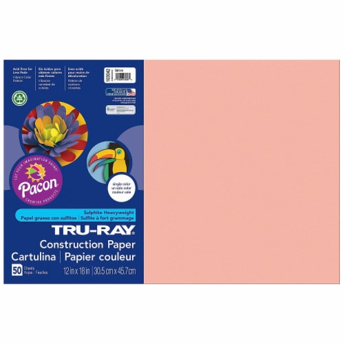 Tru-Ray  Construction Paper 103042 Perspective: front