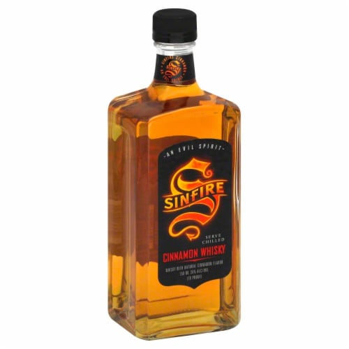 Sinfire Cinnamon Whisky Perspective: front