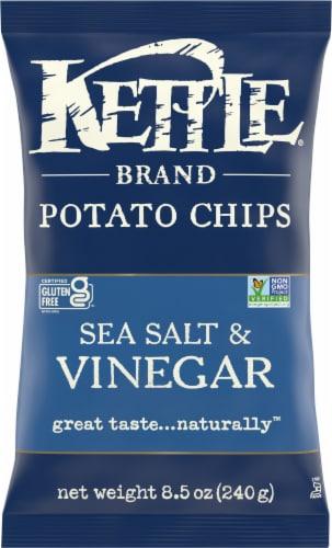 Kettle Brand Sea Salt & Vinegar Chips Perspective: front