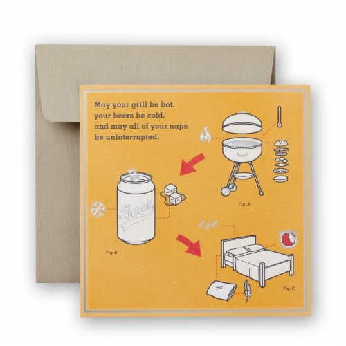 American Greetings Father's Day Card (Grilling) Perspective: front