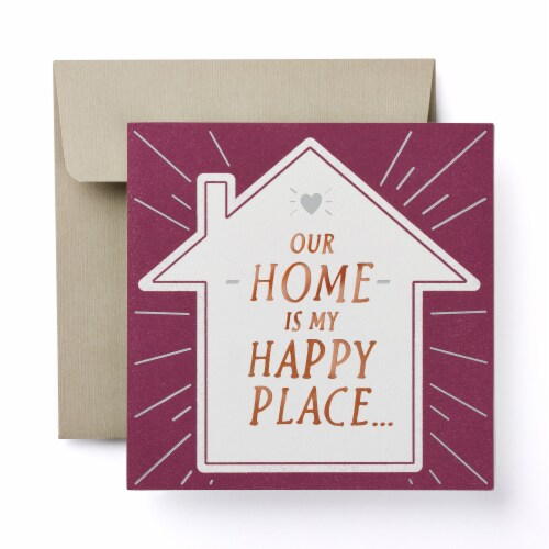 American Greetings Thinking of You Card (Happy Place) Perspective: front