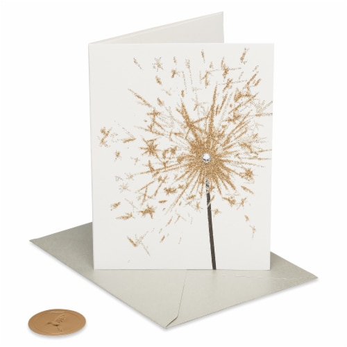 Papyrus Birthday Card (Sparkler) Perspective: front