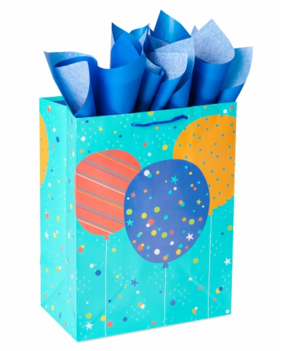 American Greetings #2 Gift Bag with Tissue Paper Perspective: front