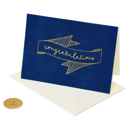 Papyrus Congratulations Card (Blank) Perspective: front