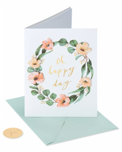 Papyrus Bridal Shower Card (Happy Day) Perspective: front