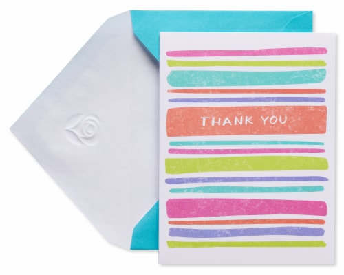 American Greetings #15 Thank You Stationery Perspective: front