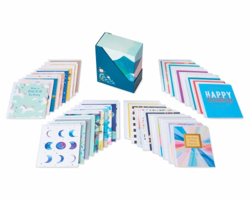 American Greetings Deluxe Birthday Greeting Card Bundle Perspective: front