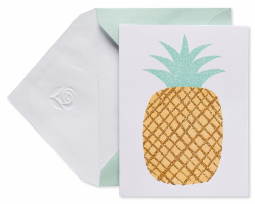 American Greetings #17 Pineapple Blank Cards and Envelopes Perspective: front