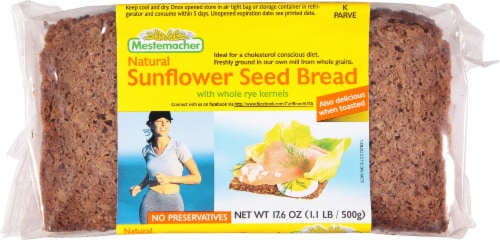 Mestemacher Sunflower Seed Bread Perspective: front