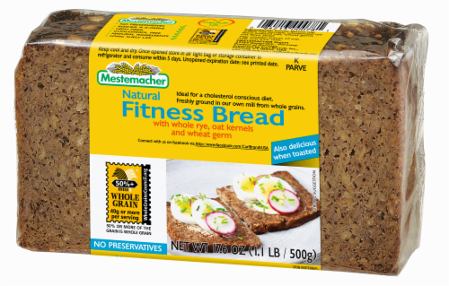 Mestemacher Fitness Bread Perspective: front