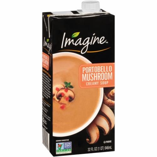 Imagine Portobello Mushroom Creamy Soup Perspective: front