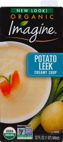 Imagine Organic Creamy Potato Leek Soup Perspective: front
