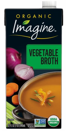 Imagine Organic Vegetable Broth Perspective: front
