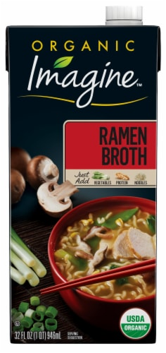 Imagine Organic Ramen Broth Perspective: front