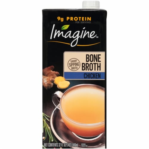 Imagine Chicken Bone Broth Perspective: front