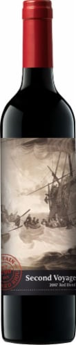 Second Voyage Red Blend Wine Perspective: front