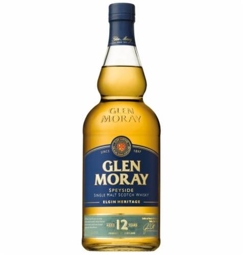 Glen Moray Speyside Single Malt Scotch Whisky Perspective: front