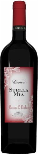 Evviva Stella Mia Rosso E Dolce Red Wine Perspective: front