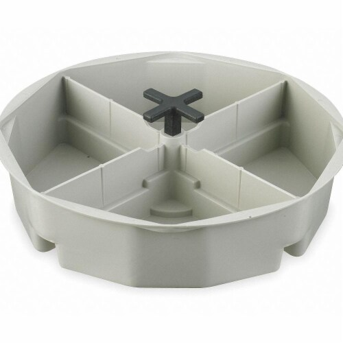 CLC Work Gear Bucket Tool Organizer - Off-White Perspective: front