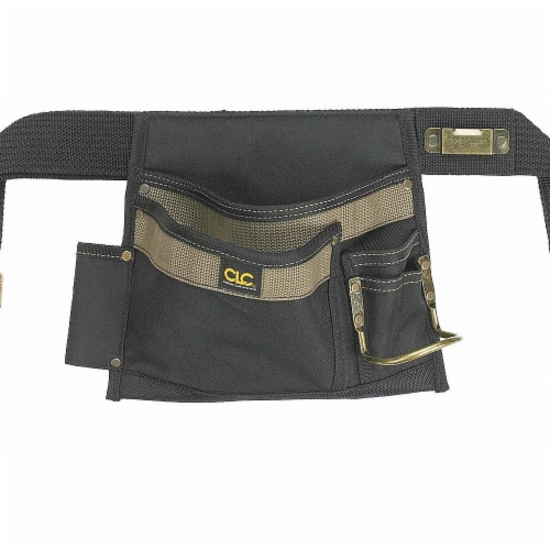 CLC Work Gear 5-Pocket Single Side Carpenter Apron Perspective: front