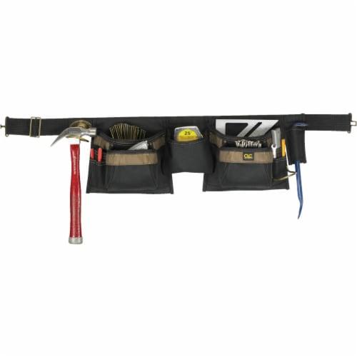 CLC Work Gear 12-Pocket Carpenter Apron Perspective: front