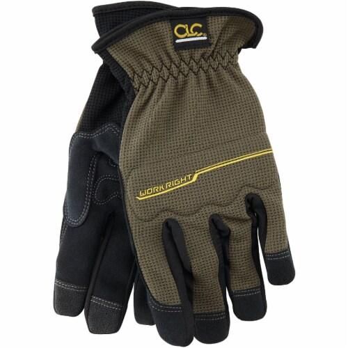 CLC Workright OC Men's XL Spandex Flex Grip Work Glove 123XL Perspective: front