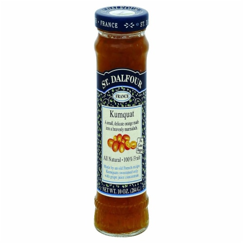 St. Dalfour  All Natural Fruit Spread   Kumquat Perspective: front