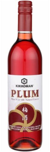 Kikkoman Red Plum Wine Perspective: front