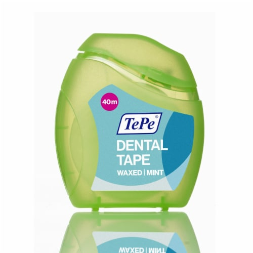 TePe® Dental Tape 40m Perspective: front