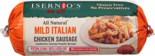 Isernio's Italian Chicken Sausage Perspective: front