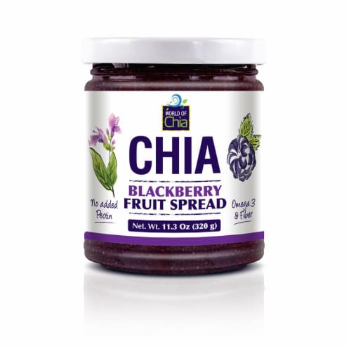 World Of Chia Chia Blackberry Spread Standard Perspective: front