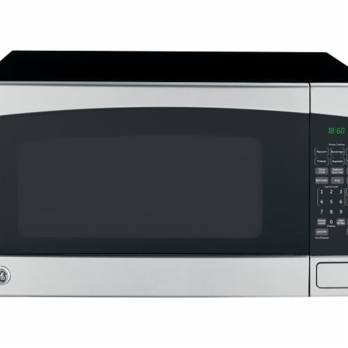 GE Appliances 260832 2.0 cu. ft. Stainless Steel Microwave Perspective: front
