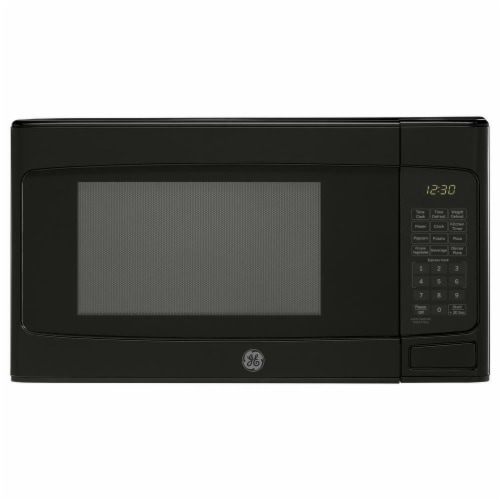 GE Appliances 250358 1.1 cu. ft. 950W Microwave, Black Perspective: front