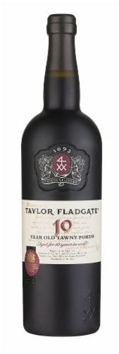 Taylor Fladgate 10 Year Tawny Port Perspective: front