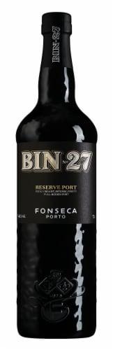 Fonseca Bin No. 27 Reserve Port Perspective: front