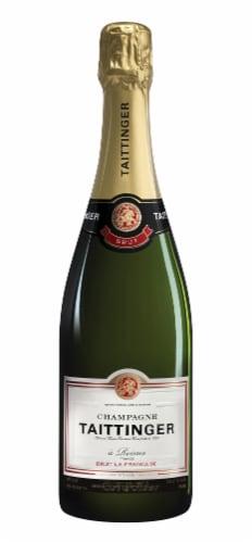 Taittinger La Francaise Brut Champagne Perspective: front