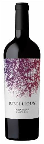 Rebellious Red Wine Perspective: front
